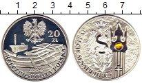 Изображение Монеты Европа Польша 20 злотых 2004 Серебро Proof