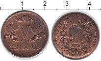 Изображение Монеты Колумбия 5 сентаво 1970 Бронза UNC-