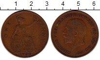 Изображение Монеты Великобритания 1 пенни 1930 Бронза XF- Георг V