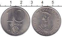 Изображение Монеты Европа Венгрия 10 форинтов 1981 Медно-никель UNC-