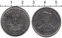 Изображение Монеты Северная Америка Гаити 20 сантим 1995 Медно-никель UNC-