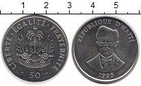 Изображение Монеты Северная Америка Гаити 50 сантим 1995 Медно-никель UNC-