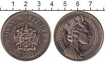 Изображение Монеты Северная Америка Сент-Люсия 10 долларов 1985 Медно-никель UNC