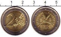 Изображение Монеты Италия 2 евро 2015 Биметалл UNC- ЭКСПО 2015