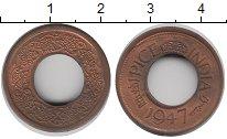Изображение Монеты Азия Индия 1 пайс 1947 Бронза XF