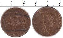 Изображение Монеты Европа Франция 5 сантим 1915 Бронза VF