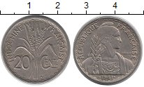 Изображение Монеты Франция Индокитай 20 центов 1941 Медно-никель XF