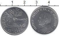 Изображение Монеты Европа Ватикан 10 лир 1984 Алюминий UNC-