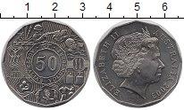 Изображение Мелочь Австралия 50 центов 2003 Медно-никель UNC- Елизавета II.  Волон