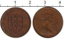 Изображение Монеты Великобритания Остров Джерси 1 пенни 1971 Бронза XF