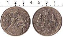 Изображение Монеты Северная Америка Доминиканская республика 4 доллара 1970 Медно-никель UNC-