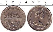 Изображение Монеты Остров Джерси 25 пенсов 1977 Медно-никель UNC-