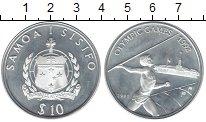 Изображение Монеты Австралия и Океания Самоа 10 долларов 1991 Серебро Proof-