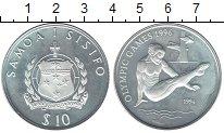 Изображение Монеты Австралия и Океания Самоа 10 долларов 1994 Серебро Proof-