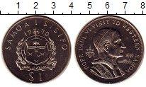 Изображение Монеты Самоа 1 доллар 1970 Медно-никель UNC-