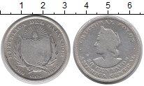 Изображение Монеты Северная Америка Сальвадор 50 сентаво 1892 Серебро VF