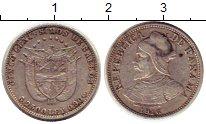 Изображение Монеты Панама 5 сентесим 1916 Серебро XF