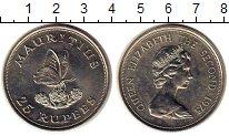 Изображение Монеты Африка Маврикий 25 рупий 1975 Медно-никель UNC-