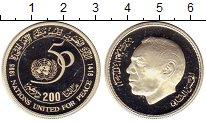 Изображение Монеты Африка Марокко 200 дирхам 1995 Серебро Proof