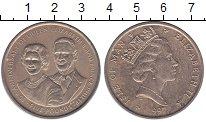 Изображение Монеты Остров Мэн 5 фунтов 1997 Латунь UNC-