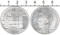 Изображение Монеты Европа Нидерланды 10 гульденов 1994 Серебро UNC-