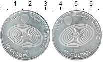 Изображение Монеты Европа Нидерланды 10 гульденов 1999 Серебро UNC-