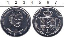 Изображение Мелочь Ниуэ 1 доллар 1997 Медно-никель UNC- Принцесса Диана.