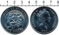 Изображение Монеты Австралия и Океания Новая Зеландия 1 доллар 1990 Медно-никель UNC-
