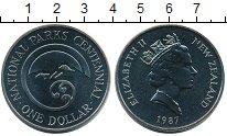 Изображение Монеты Австралия и Океания Новая Зеландия 1 доллар 1987 Медно-никель UNC-