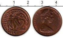 Изображение Монеты Австралия и Океания Новая Зеландия 2 цента 1976 Бронза XF
