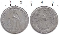 Изображение Монеты Гватемала 1/4 кетцаля 1926 Медно-никель XF