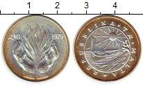 Изображение Монеты Европа Мальта 1 фунт 1979 Серебро UNC-
