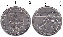 Изображение Монеты Португалия 2,5 эскудо 1982 Медно-никель VF