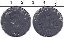Изображение Монеты Сан-Марино 100 лир 1984 Медно-никель UNC
