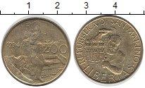 Изображение Монеты Европа Сан-Марино 200 лир 1994 Латунь UNC