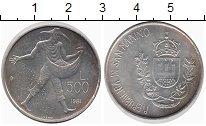 Изображение Монеты Европа Сан-Марино 500 лир 1981 Серебро UNC-