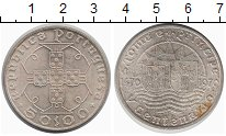 Изображение Монеты Португалия 50 эскудо 1970 Серебро XF