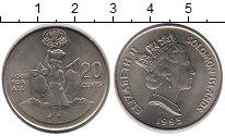 Изображение Монеты Австралия и Океания Соломоновы острова 20 центов 1995 Медно-никель XF