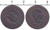 Изображение Монеты Сьерра-Леоне 1/2 цента 1964 Медь VF