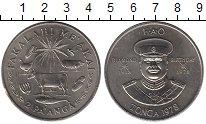 Изображение Монеты Тонга 2 паанга 1978 Медно-никель UNC