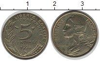 Изображение Монеты Европа Франция 5 сантим 1998 Латунь VF
