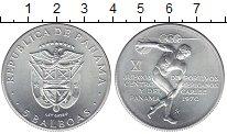 Изображение Монеты Северная Америка Панама 5 бальбоа 1970 Серебро UNC