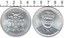 Изображение Монеты Ямайка 5 долларов 1971 Серебро Proof