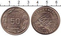 Изображение Монеты Камерун 50 франков 1960 Медно-никель UNC-