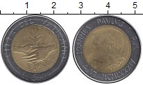 Изображение Монеты Европа Ватикан 500 лир 1984 Биметалл UNC-