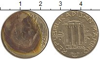 Изображение Монеты Европа Сан-Марино 200 лир 1985 Латунь XF