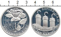 Изображение Монеты Европа Сан-Марино 10 евро 2002 Серебро Proof
