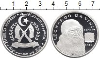 Изображение Монеты Африка Сахара 1000 песет 1999 Серебро Proof
