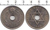 Изображение Монеты Западная Африка 1 пенни 1936 Медно-никель UNC-