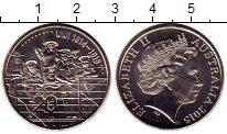 Изображение Мелочь Австралия и Океания Австралия 20 центов 2015 Медно-никель UNC